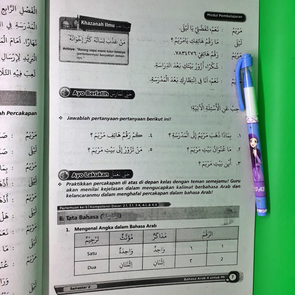Lks Bahasa Arab Mi Kelas 4 Semester 2 Thawaf Shopee Indonesia