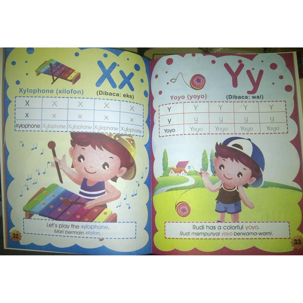 Buku Anak PAUD Dan TK Belajar Bahasa Inggris Murah