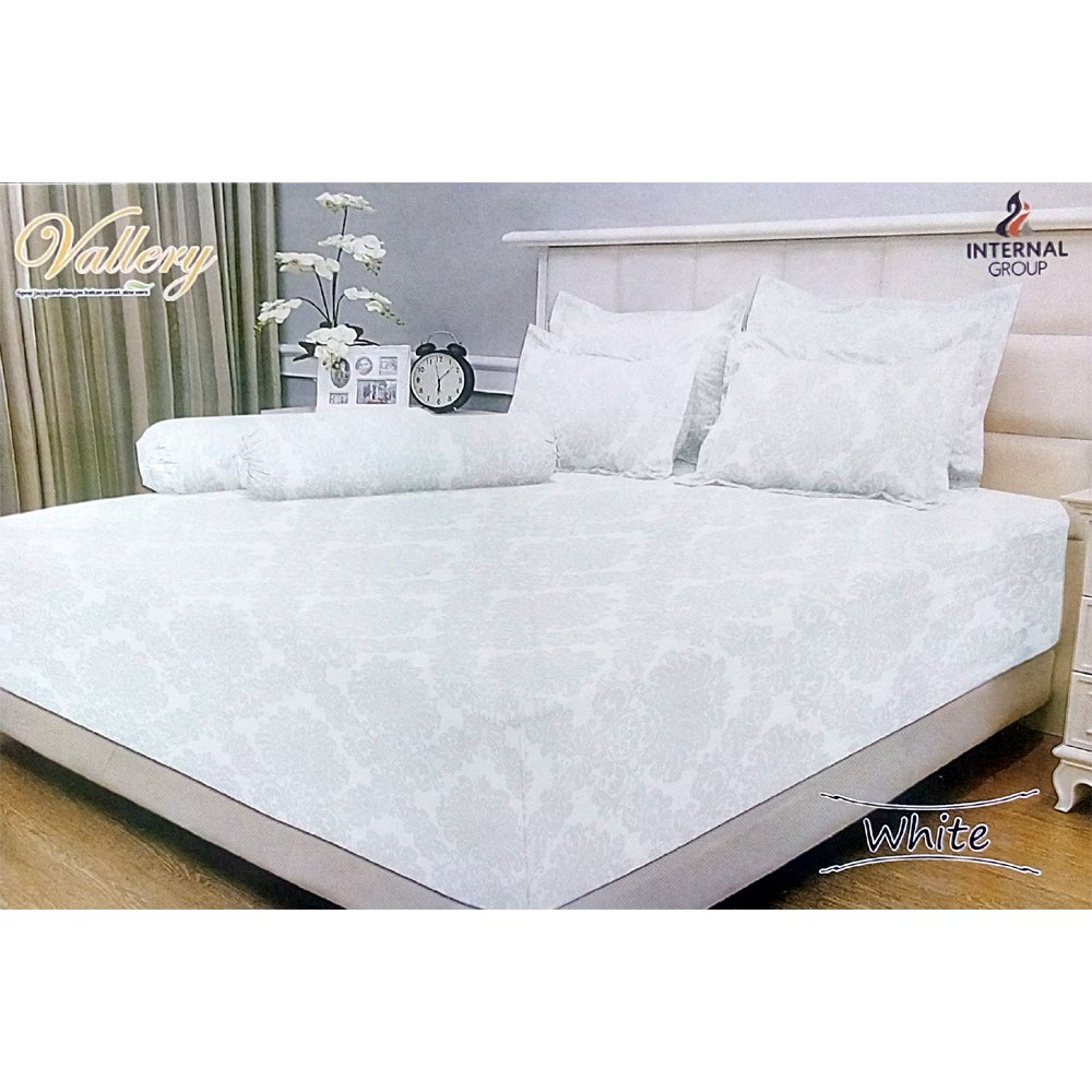 Sprei Polos Asli Rosewell Katun Microtex Uk King Queen 180 160 Chelsea Bed Cover Set 180x200cm Shopee Indonesia