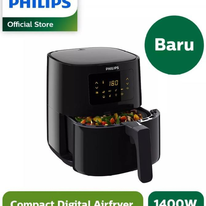 ✅Harga!! Philips Air Fryer Spectre HD9252/90 HD-9252 Digital Airfryer Low Watt