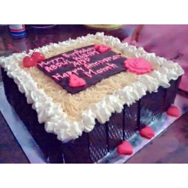 Promo Roti Kue Tart Ulang Tahun Rainbow Murah