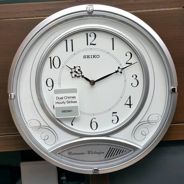 Aman Jam Dinding Seiko Clock Qxh110-B Solid Wooden Oak Pendulum Westminster  Whittington Murah  6846ef0ca6