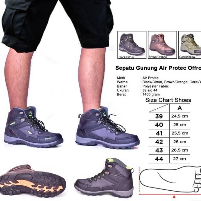 Sepatu gunung airprotec COLUMBIA  98477316ab