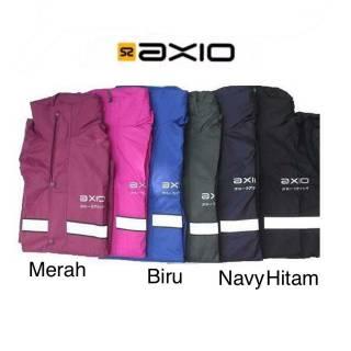 Jas Hujan Axio Europe 882 - Bonus Tas - Rain coat Axio Original - Jas hujan Hujan Axio Original