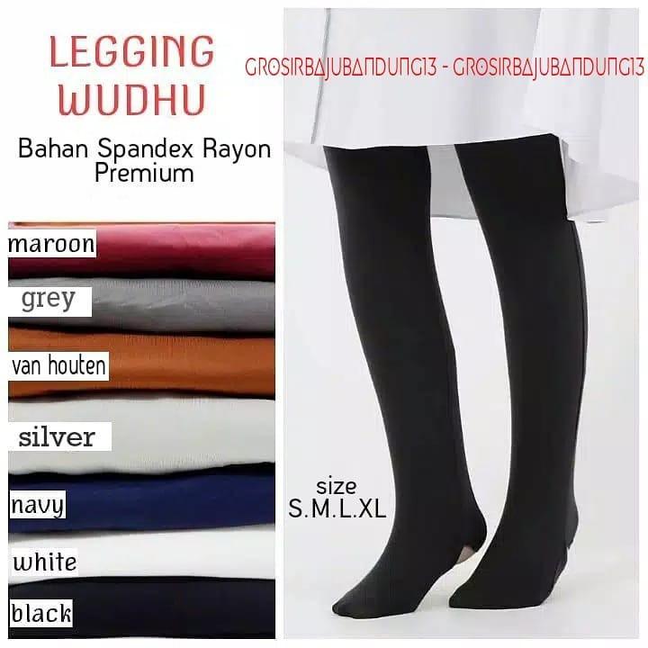 Jeovanna Termurah Lejing Wudhu Legging Wudhu Leging Muslimah Promo Termurah Shopee Indonesia