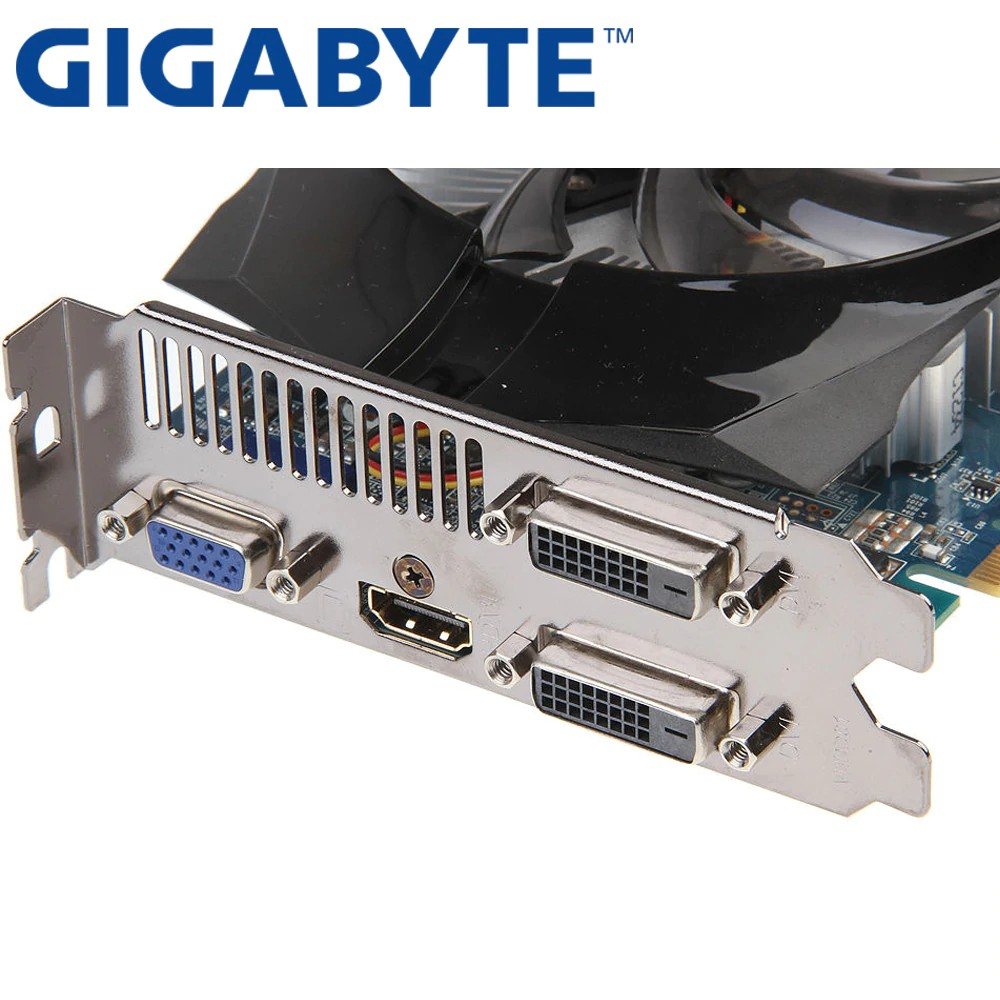 Gigabyte Nvidia Geforce GTX 650 OC 1GB GDDR5 Graphics Card GV-N650OC-1GI