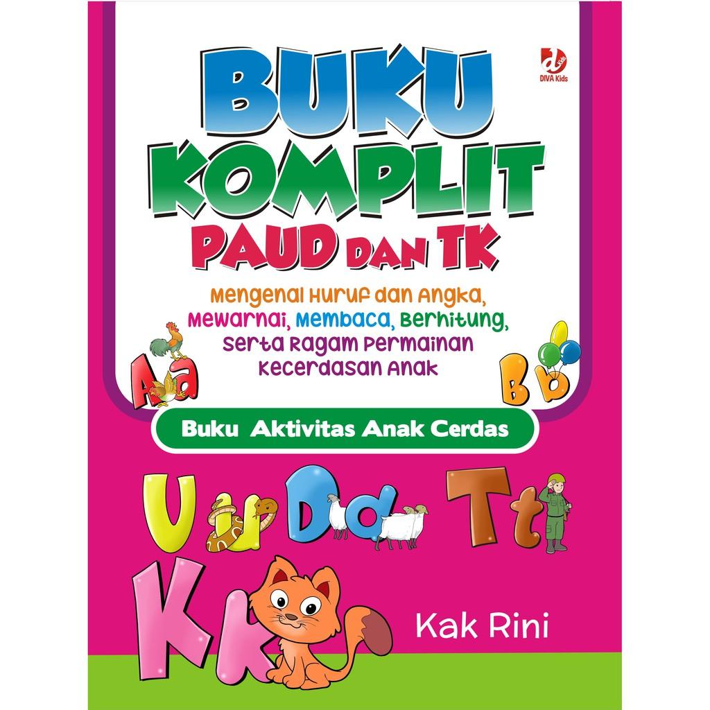 Buku Komplit Paud Tk Diva Press Shopee Indonesia