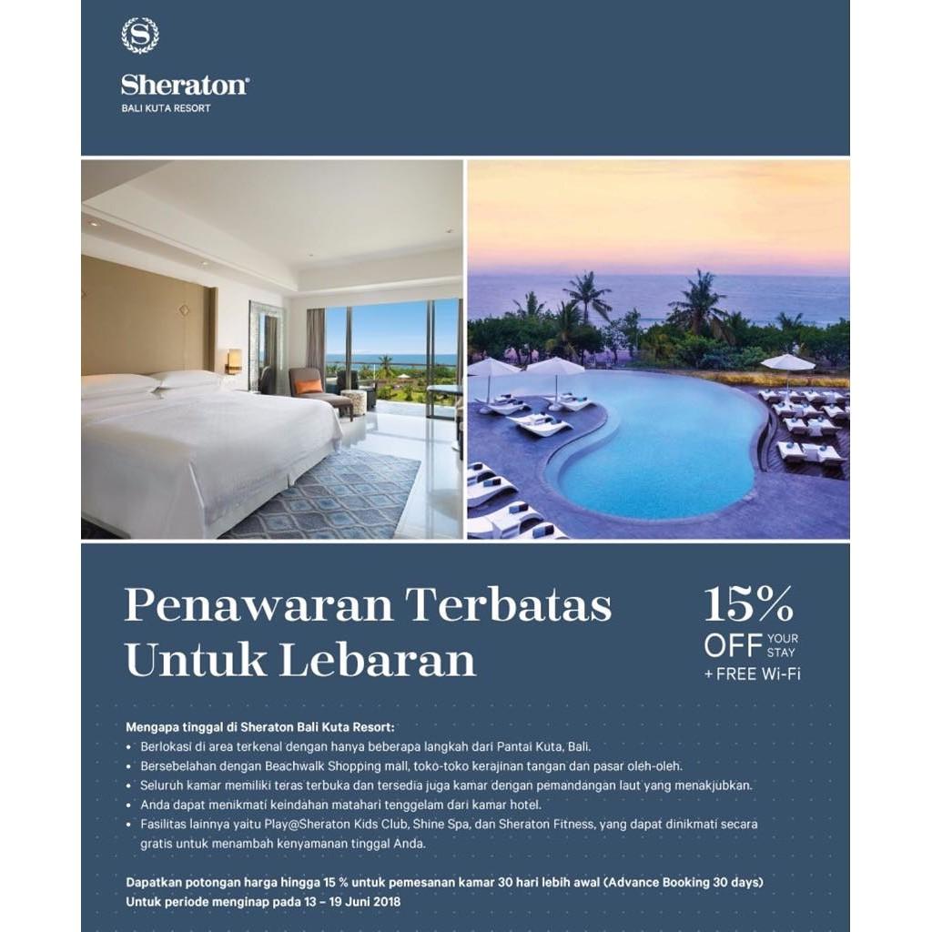Voucher Hotel Bali Best Western Resort Kuta Shopee Indonesia Voucer