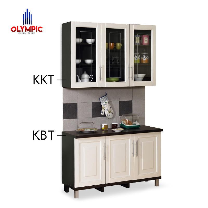Olympic Kitchen Set 3 Pintu Meja Dapur Kabinet Bawah Rak Dapur Bawah Kbt010880i Shopee Indonesia