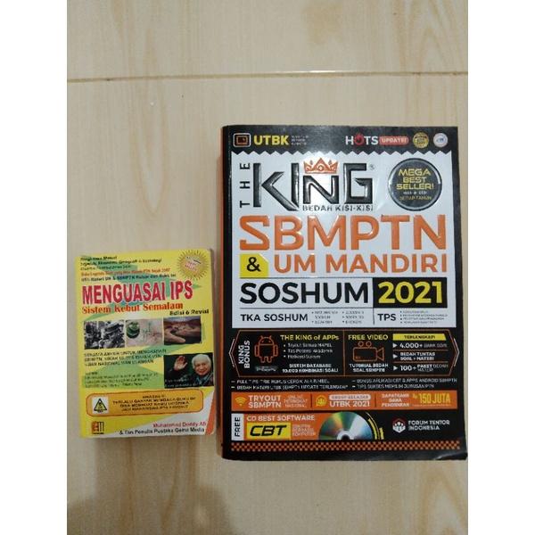 Preloved buku the king soshum sbmptn 2021 + sks ips