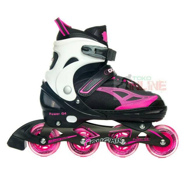 Sepatu roda   inline skate power pink  f30e5b35e3