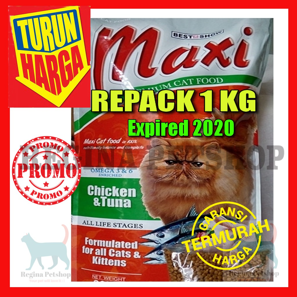 Bolt 1kg Makanan Kucing Murah Repack Cat Food Shopee Indonesia Ter