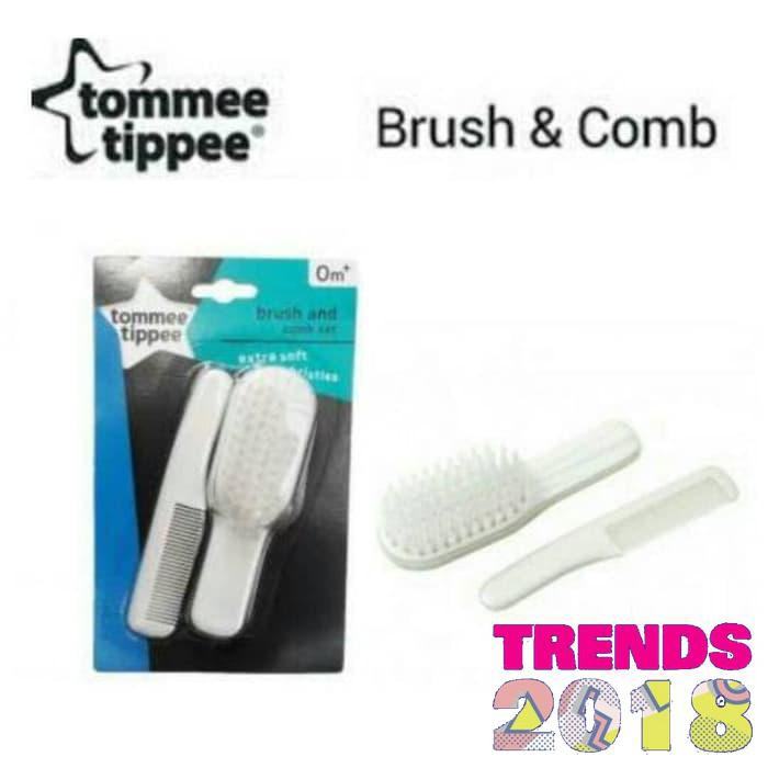 Pigeon Comb & Hair Brush Set Sisir Bayi Sikat dan Bergerigi | Shopee Indonesia
