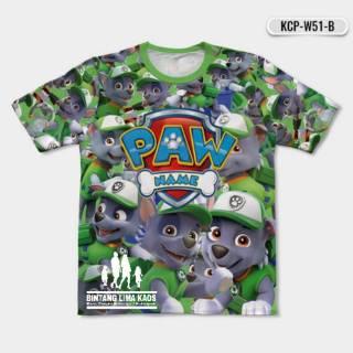 baju piyama dengan gambar kartun paw patrol untuk laki-laki / musim panas 00283 | shopee indonesia
