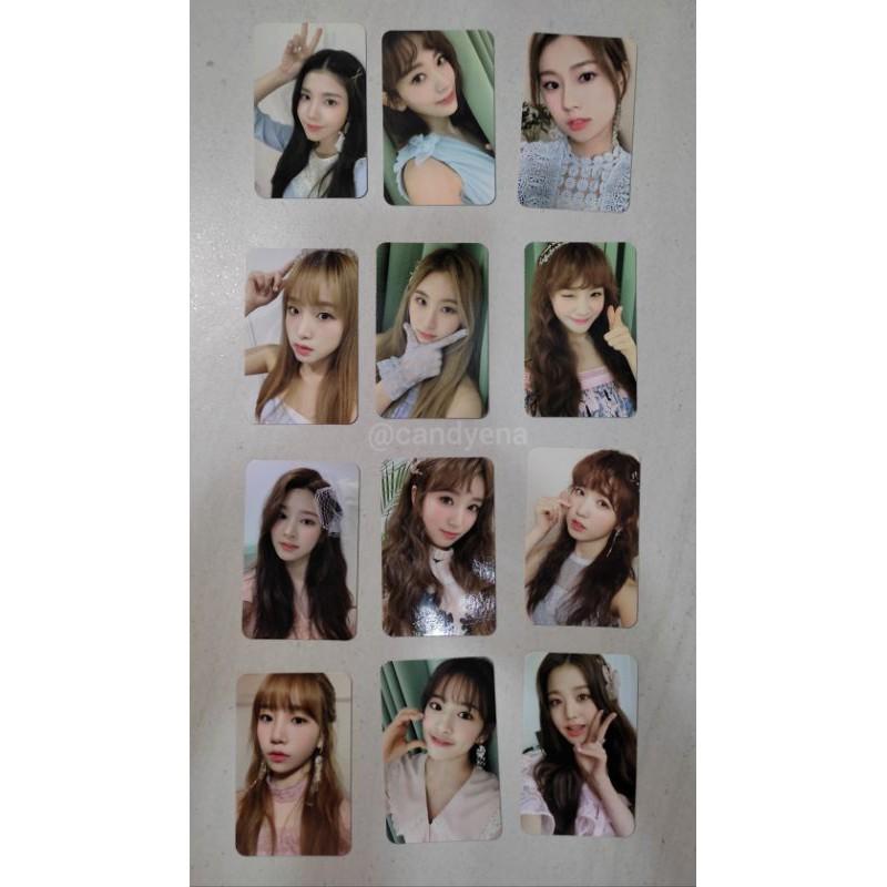 IZ*ONE secret time photocard seasons greeting official izone