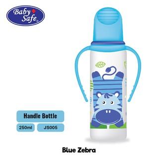 Baby Safe Botol Susu Bayi Handle Bottle 250 ML JS005 BPA Free