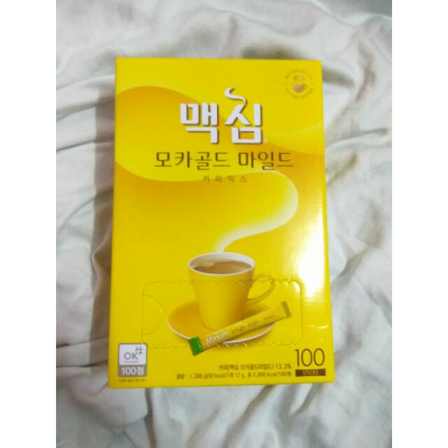 Maxim mocha gold mild coffee mix / kopi korea / kopi instant/ minuman korea / koreanfood/ kopi