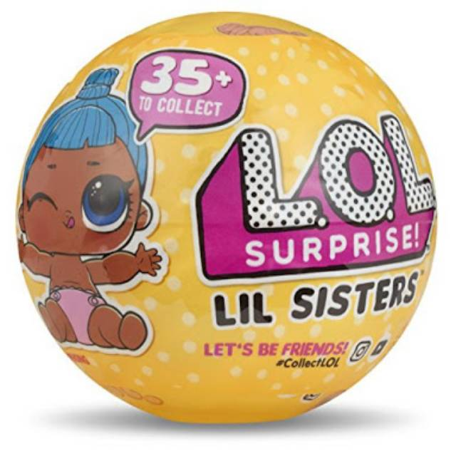 L.O.L LOL Surprise Surprise Lil Sisters Ball Eye Spy Series Double pack 2pcs