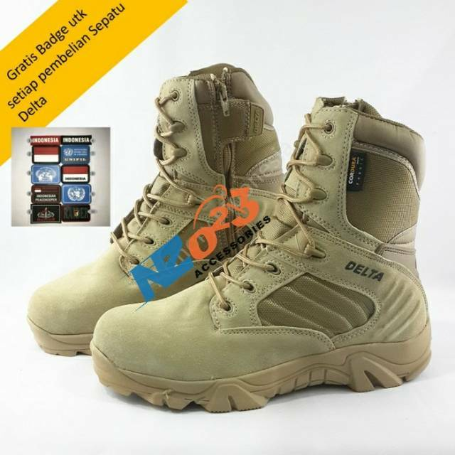 Sepatu TAG army outdoor tactical boots 8