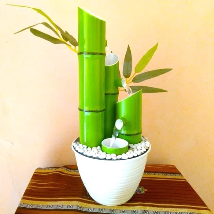 Promo Air Mancur Bambu Mini Warna Hijau Berkualitas Shopee Indonesia