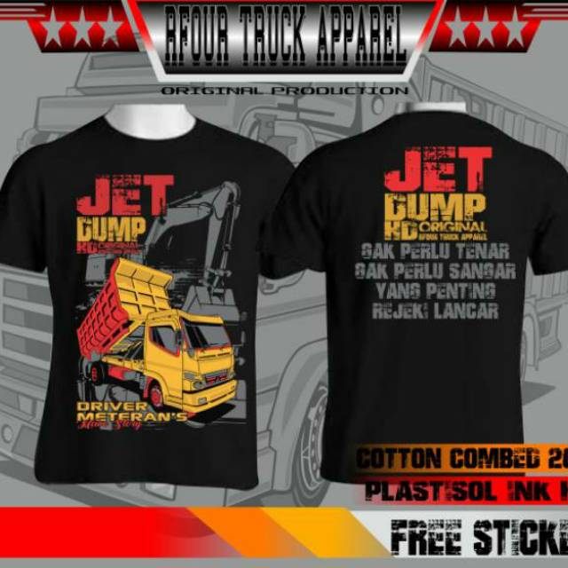 Gambar Modifikasi Truk Dump Truck Kaos Gambar Dump Truck Kaos Dump Truck Kaos Truck Mania Kaos