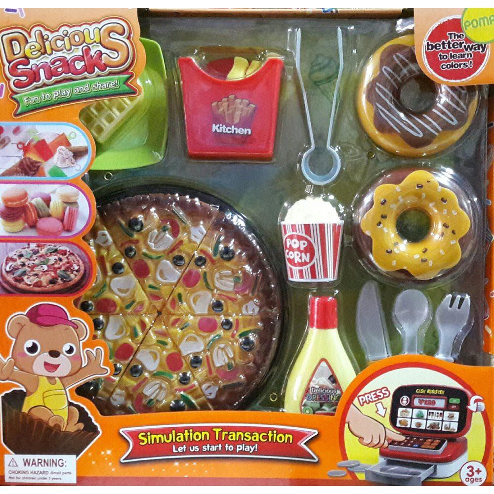 Jual Mainan Pizza Makanan Masak Masakan Berkualitas Shopee Indonesia