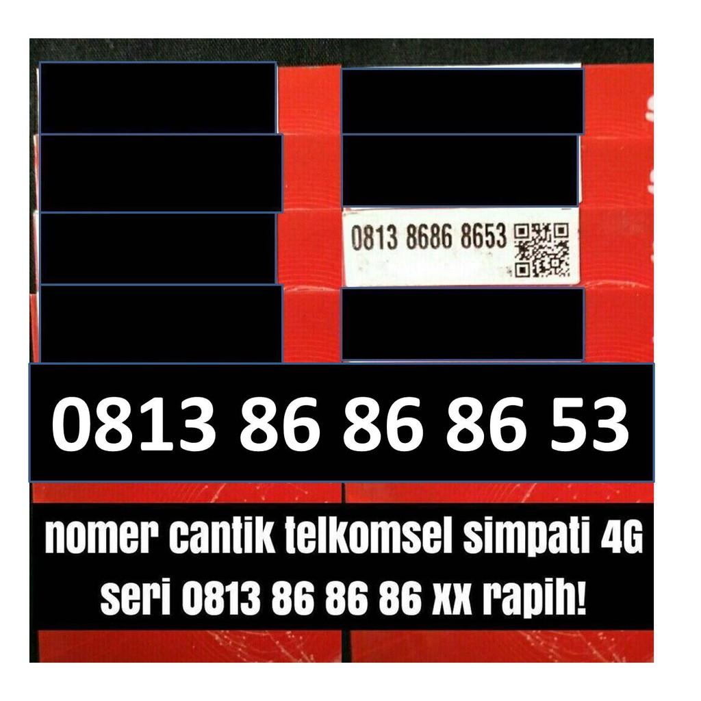 Telkomsel simpati 4Glte 234 mudah di hafal dan bisa di isi ulang kuota internet | Shopee
