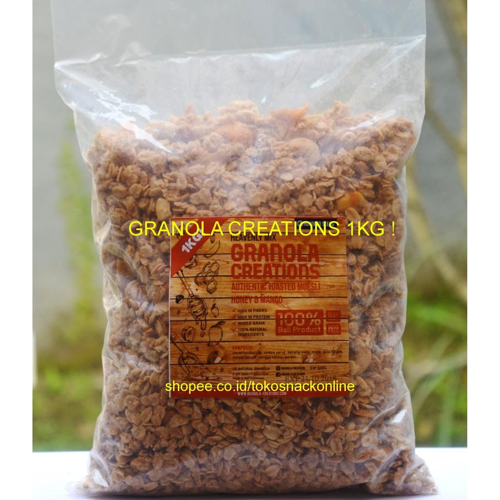 Granobar Granola Creations Isi 5 Pcs All Variant Shopee Indonesia
