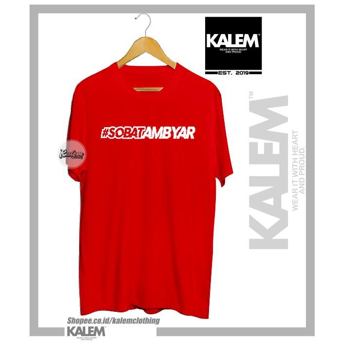 Kaos Baju Sobat Ambyar Didi Kempot Logo Sobatambyar Keren Murah