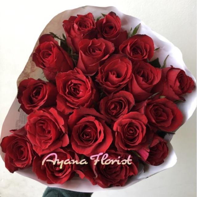 Bunga Mawar Malang Per 20 Tangkai Shopee Indonesia