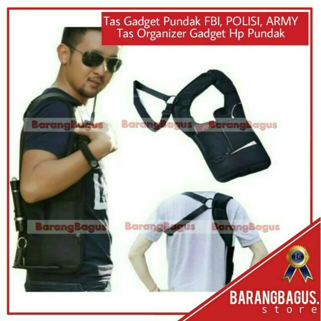 Tas Gadget Bahu Pundak Army Polisi FBI Agen 007 Bag Organizer multifungsi polisi army multi fungsi | Shopee Indonesia