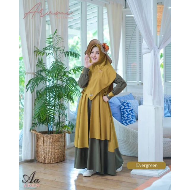 gamis arumi by aden hijab