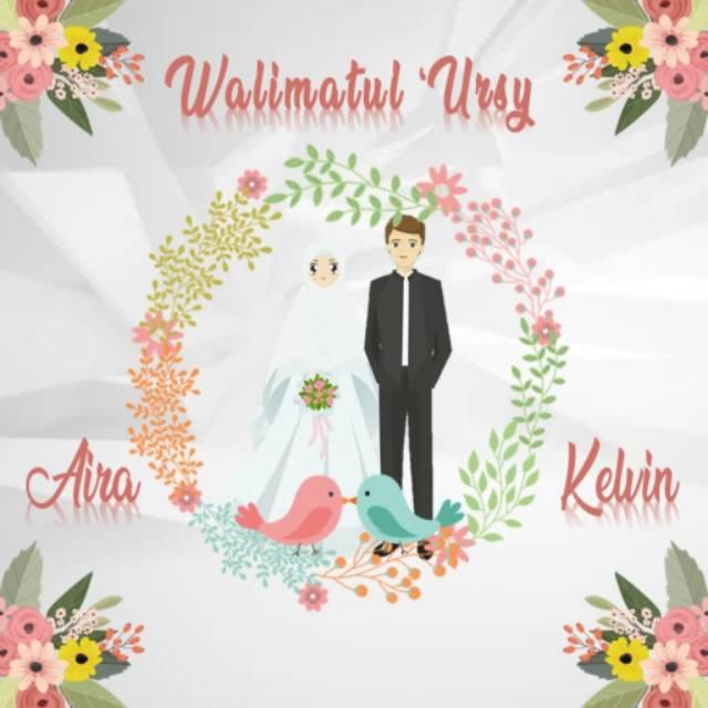 Kode U17 Video Undangan Pernikahan Wedding Invitation Digital