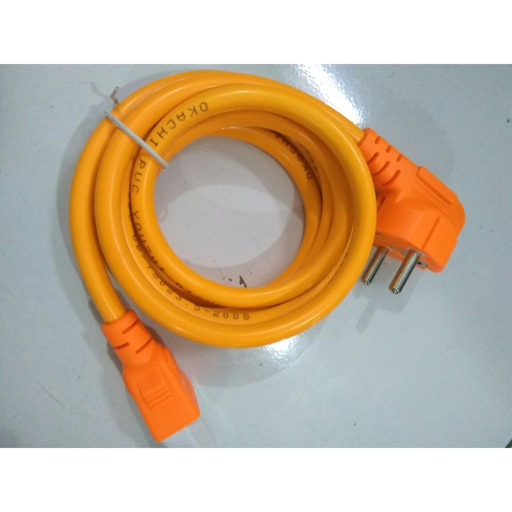 Up To 44 Discount From Brand Power Cooker Kabel Komputer Okachi Cpu Magic Com Orange 18 Meter Tebal Super