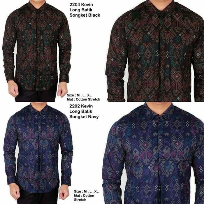 Kemeja Batik Pria / Baju Batik / Baju Pesta / Batik Keluarga D413 Terlaris | Shopee Indonesia