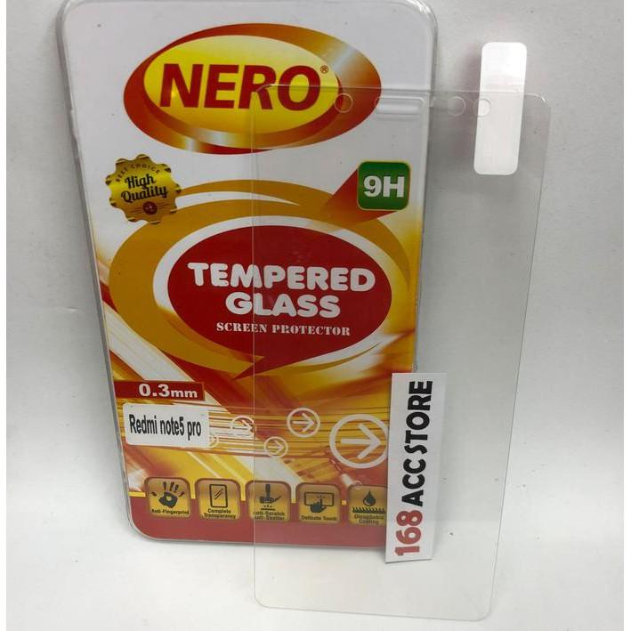 TEMPERED GLASS / ANTI GORES KACA XIAOMI REDMI NOTE 5 / NOTE 5 PRO NERO 0CBE