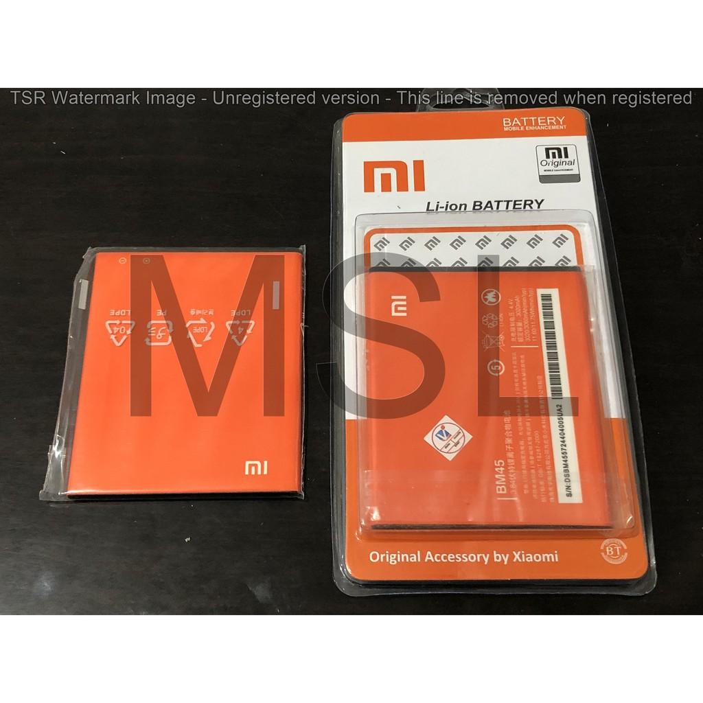 Ori Batre Xiaomi Redmi Note 2 Baterai Asli Prime Bm45 Bm 45 Original Xiao Mi Battery Batrai Battre Hp Shopee Indonesia