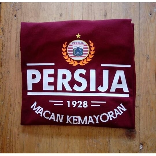 Kaos Baju Distro Persija Day Black Jakarta Shopee Indonesia
