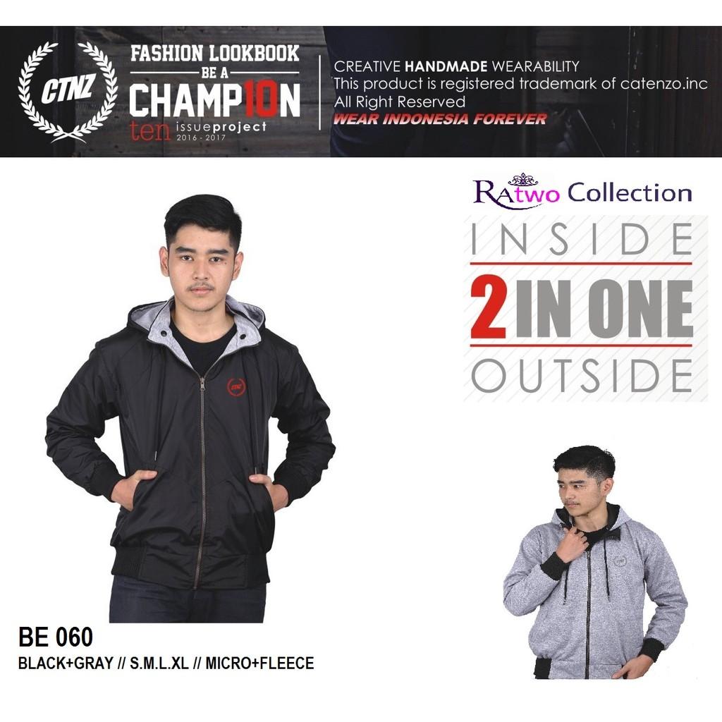 Jaket Semi Kulit Pria Jacket Motor Harian Cowok L Xl Xxl Hitam Sporty Catenzo Fleece Hoddie Black Grey Original Distro Shopee Indonesia