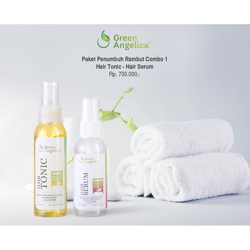 Obat Tradisional Penumbuh Rambut Botak Ampuh Gratis 1 Tas Cantik Green Angelica Rontok Herbal Tercepat Shopee Indonesia