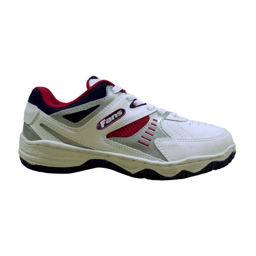 Fans Destar BW Sepatu Kasual Pria - Hitam-Putih  46666d42a5