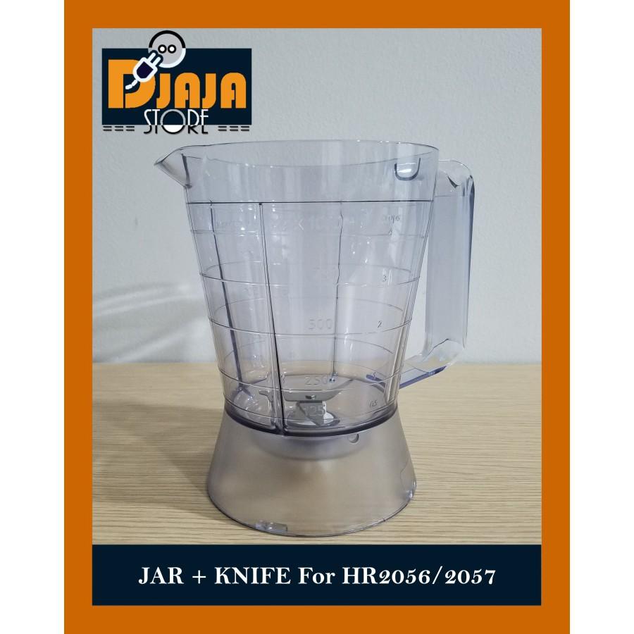 Tabung / Gelas Bumbu Philips Blender Dry Wet Mill HR 2057 2056 HR2056 HR2057 Pisau + Mika | Shopee Indonesia