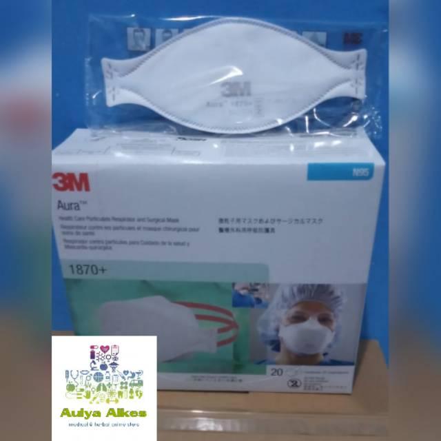 Respirator 1870 Virus 3m Murah Original Anti N95 Masker