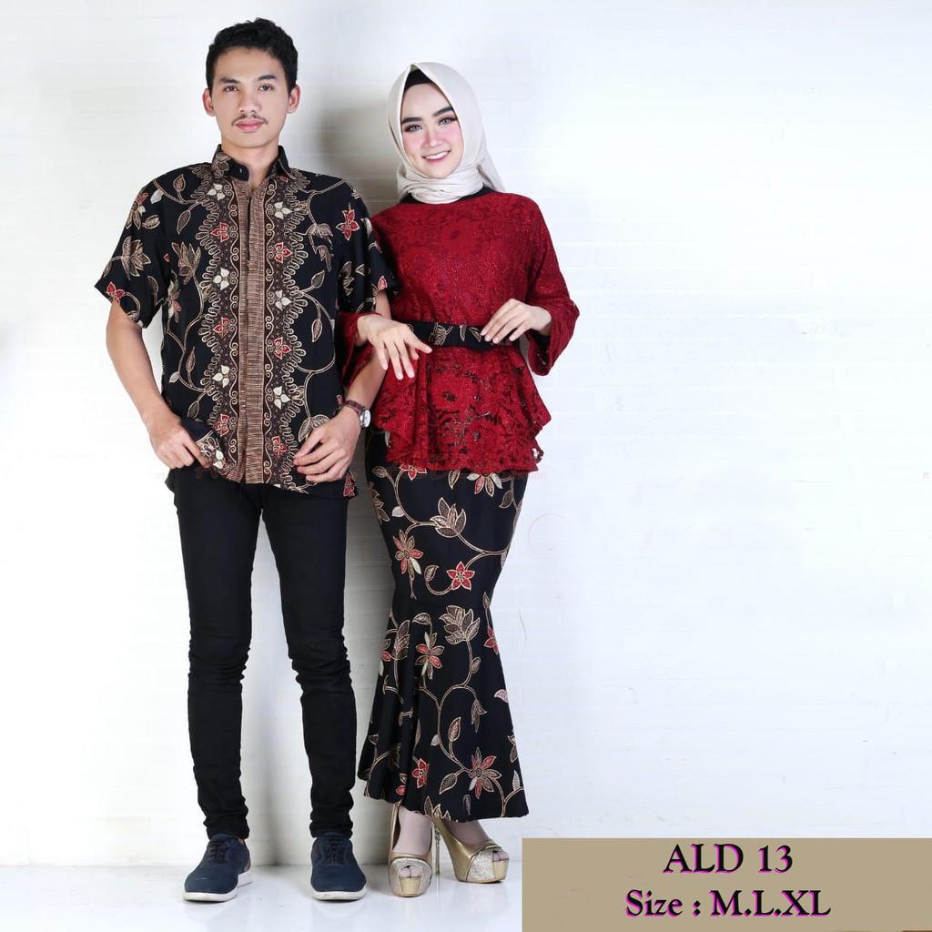 Batik Couple lilit rovella kebaya modern setelan batik stelan wanita baju  muslim rok lilit seragaman  c49dcba805
