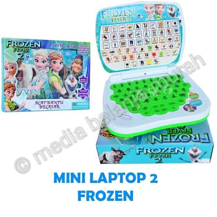 Mainan Mini Laptop Karakter Frozen 2 Mainan Anak Edukatif Unik Shopee Indonesia