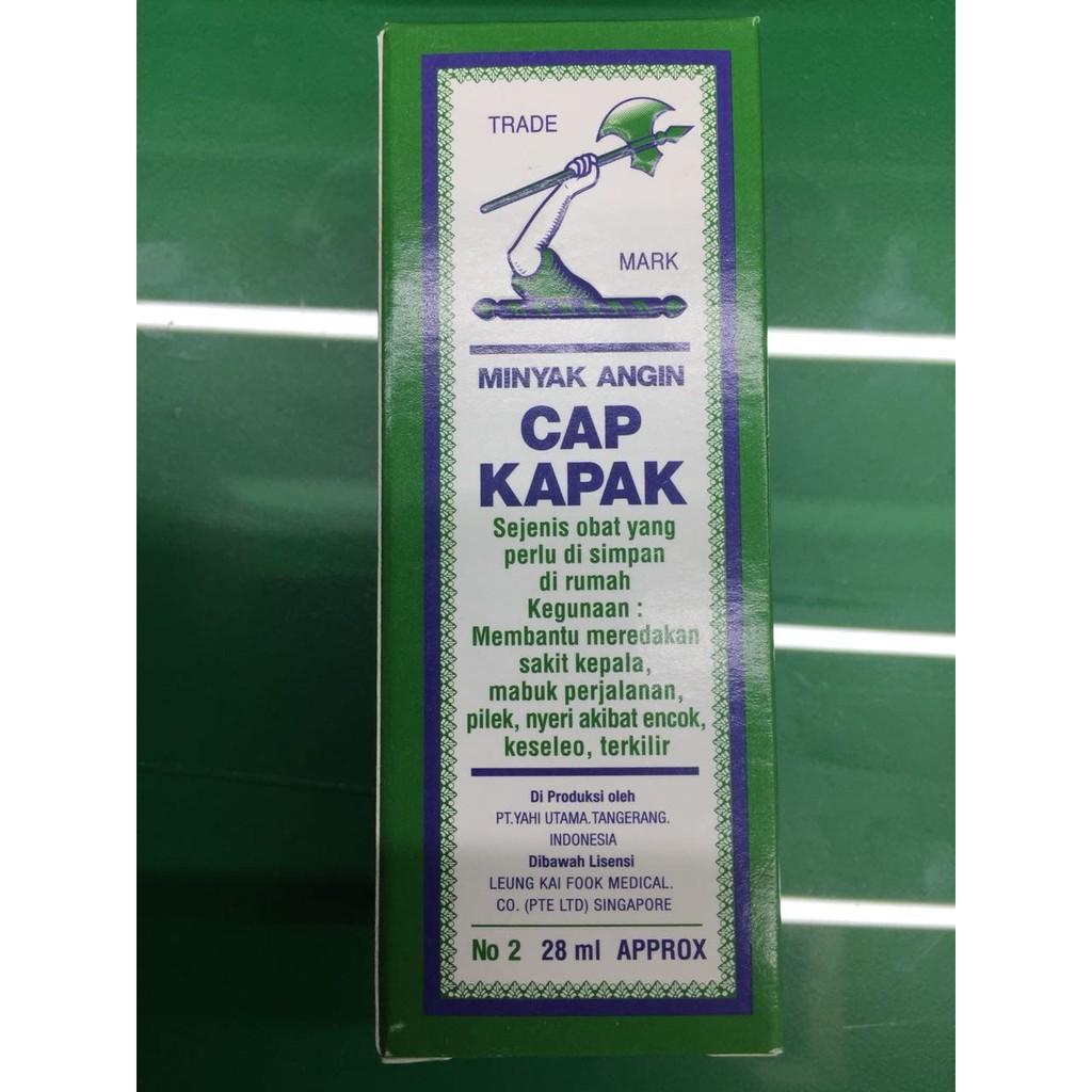 Minyak Angin Cap Kapak 28ml Shopee Indonesia Lang Kayu Putih No 2 60ml Khusus Area Pulau Jawa