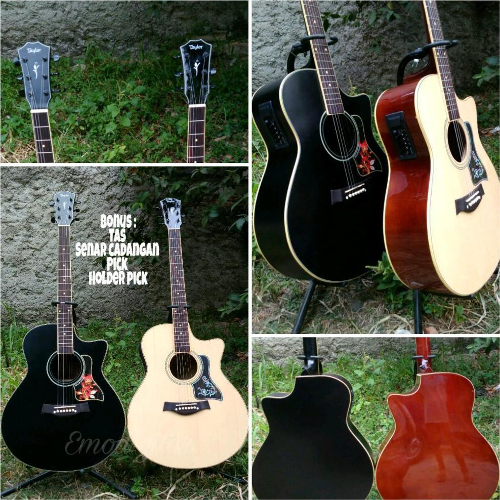 Gitar Akustik Ibanez Yamaha Fender Gibson Taylor