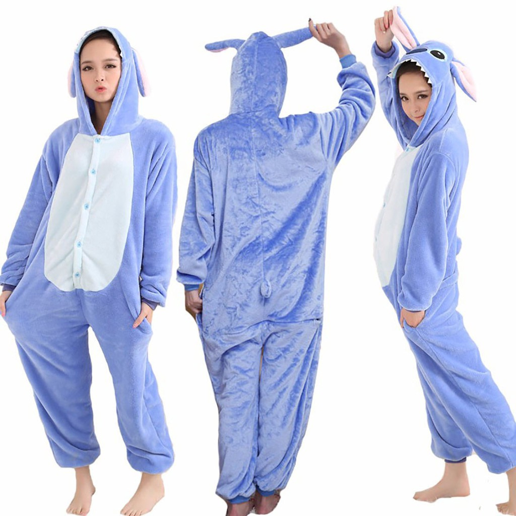 New Adult Unisex Pajamas Animal Cosplay costume Unicorn S XL Sleepwear dress!!!