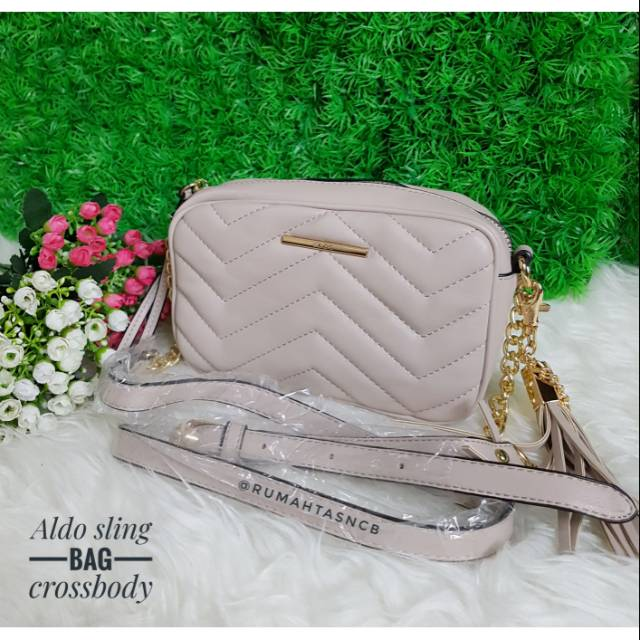 4b64862df Aldo Sling Bag With Tassel | Shopee Indonesia