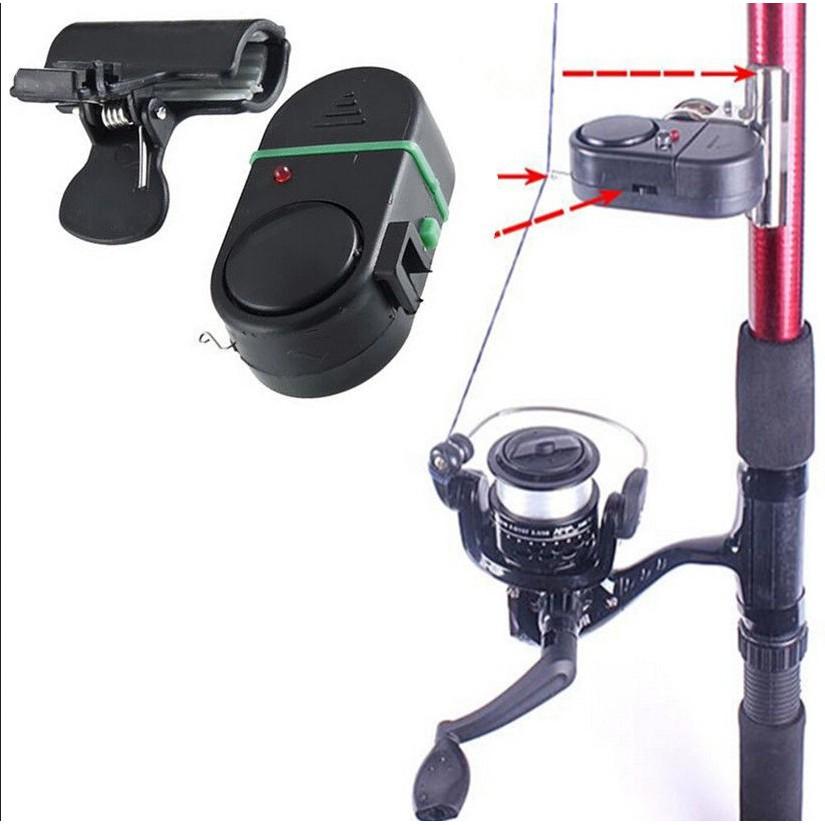 [Bayar Di Tempat]Bel Suara Alarm Gigitan Ikan Jepit Tongkat Pancing Lampu LED Elektronik | Shopee Indonesia